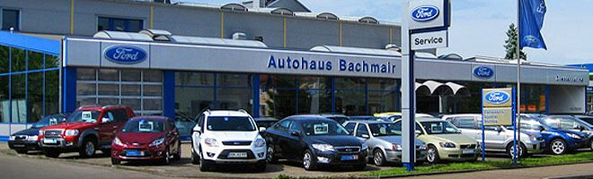 Auto Bachmair GmbH von außen